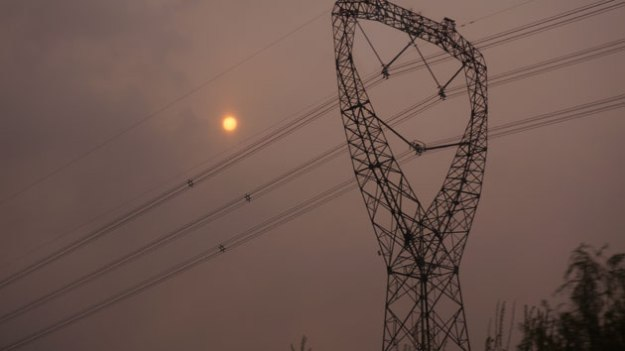 This is the only time I saw the sun in Beijing.