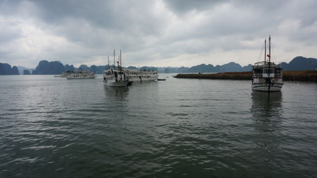 Thousands of weird islands in Ha Long Bay.
