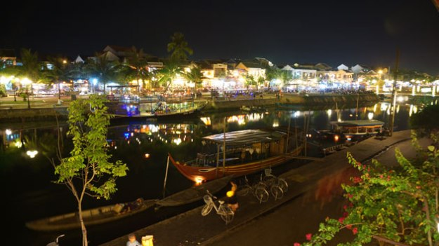 Hoi An has some of the best nightlife I've seen in Asia. And surprisingly good pizza.