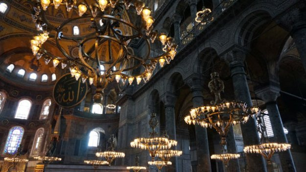 Hagia Sophia, in pretty sweet shape after 1,000+ years.