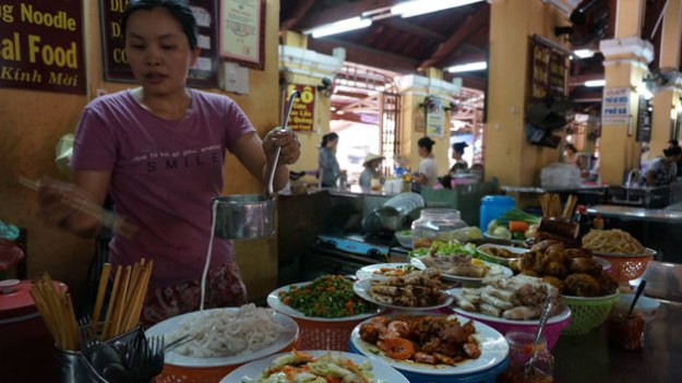 This lady in Hoi An, Vietnam prepared one of the best meals of my life. For $1 USD.