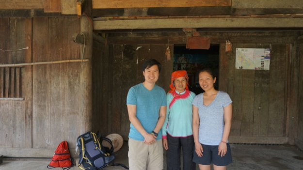 The lady in the center is Soi, a sweet Hmong woman who opened up her one-room house to me and my wife in Sapa, Vietnam.