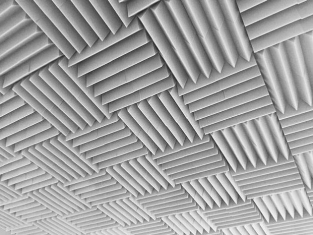 A cool ceiling I found at work. February 2, 2015, iPhone.